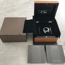 Panerai Complete PAM Luminor Marina Automatic  Pear Wood Box...