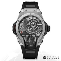 Hublot MP-09 Acero 50mm Transparente Sin cifras