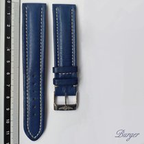 Breitling Blue Leather strap 20mm With Pin Buckle