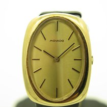 Movado Yellow gold Manual winding W03414 pre-owned