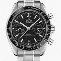 Omega Speedmaster Racing Steel 44,25mm Black No numerals