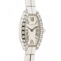 Cartier Lanières usados 16mm Oro blanco