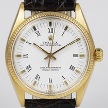 Rolex Oyster Perpetual non-date With Original White Roman Dial