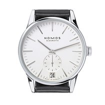 NOMOS Steel 39,8mm Automatic 802 new