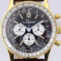 Sinn 903 Gold/Steel 41.5mm Black Arabic numerals