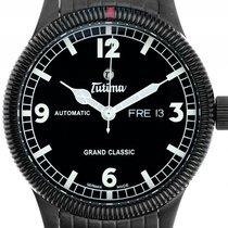 Tutima 43mm Automatisch nieuw Grand Classic Zwart