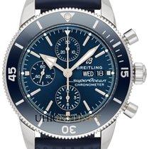 Breitling Superocean Héritage II Chronographe Stahl 44mm Blau Deutschland, Schwabach