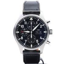 IWC Pilot Chronograph begagnad 43mm Stål