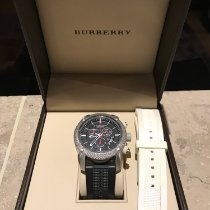 Burberry Steel 44mm Quartz pre-owned