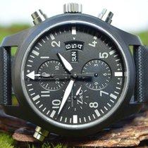 IWC Pilot Double Chronograph yeni 46mm Çelik