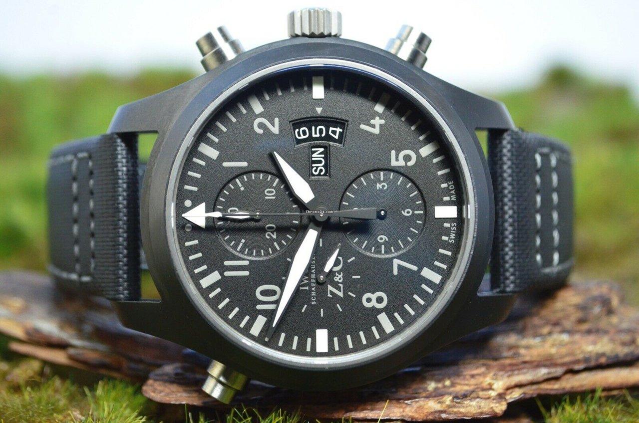 IWC Pilot Double Chronograph óra árak  fec1645551