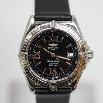 Breitling Wings Lady Steel 31mm Black Roman numerals