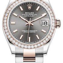 Rolex Lady-Datejust 278381rbr Rhodium Index Oyster Sin usar Acero y oro 31mm Automático