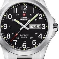 Swiss Military Stahl 42mm Quarz SMP36040.25 neu