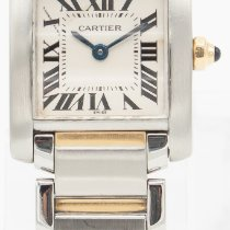 Cartier Tank Française Steel 20mm White Roman numerals United States of America, Georgia, ATLANTA