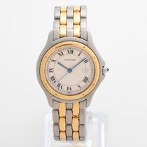 Cartier Cougar Gold/Steel 33mm White Roman numerals United Kingdom, Kent