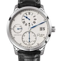 Glashütte Original Senator Chronometer Regulator White gold 42mm Silver