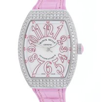 Franck Muller Vanguard 32 V SC AT AC FO D RS pre-owned