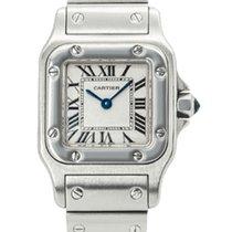 Cartier Santos Galbée Steel 23mm White Roman numerals