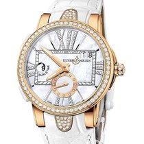 Ulysse Nardin 246-10 Rose gold 2013 Executive Dual Time Lady 40mm pre-owned