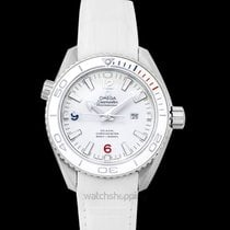 Omega Seamaster Planet Ocean Steel 37.5mm White United States of America, California, San Mateo