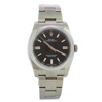 Rolex Oyster Perpetual 36 Steel 36mm Black