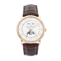 Blancpain Villeret Quantième Complet Rose gold 40mm Silver Roman numerals United States of America, Pennsylvania, Bala Cynwyd