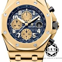Audemars Piguet Royal Oak Offshore Chronograph Yellow gold 42mm Blue Arabic numerals United States of America, New York, NEW YORK
