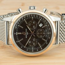 Breitling Transocean Chronograph Acero 43mm Bronce Sin cifras