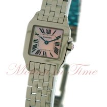 Cartier Santos Demoiselle Steel 20mm Mother of pearl Roman numerals United States of America, New York, New York