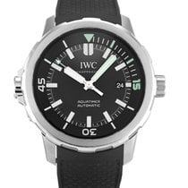IWC Aquatimer Automatic Steel 42mm Black No numerals