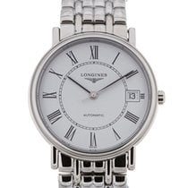 Longines Presence 35 Automatic White Dial