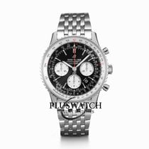 Breitling AB0121211B1A1 Steel Navitimer 1 B01 Chronograph 43 43mm new