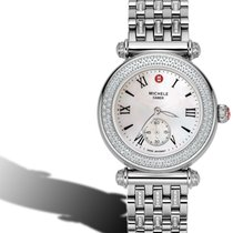 Michele Caber Diamond watch on DIAMOND Bracelet mww16a000043
