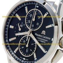 Maurice Lacroix Pontos Chronograph 43MM Black Dial
