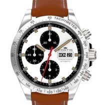 Fortis Stratoliner Parabola chronograph strap brown edition...
