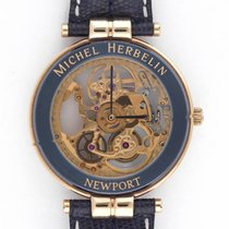 Michel Herbelin Newport Skeleton Wristwatch