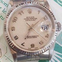 Rolex Datejust  Ref 16220 Anno 1990  Ghiera Oro Garanzia Rolex