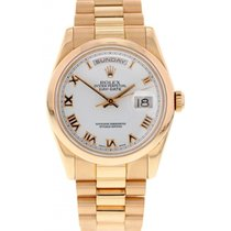 Rolex Oyster Perpetual Day-Date 18K Rose Gold 118205
