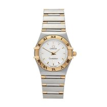 Omega Constellation Stainless Steel & 18K Yellow Gold Women's...