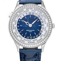 Patek Philippe Ladies World Time White Gold Edition Watch...