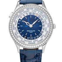 パテック フィリップ Ladies World Time White Gold Edition Watch 7130G-01...