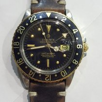 Rolex GMT-Master 14K & SS Tutone Black Nipple Dial