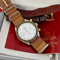 Omega Speedmaster Two Tone Chronograph Gold & Stainless 1140...