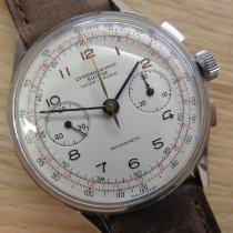 Chronographe Suisse Cie Stahl 38mm Handaufzug 4711 gebraucht Schweiz, Hölstein