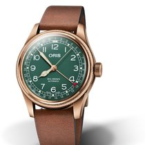 Oris Automatic Green 40mm new Big Crown Pointer Date