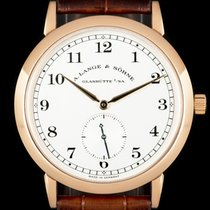 A. Lange & Söhne Rose gold 36mm Manual winding 206.032 pre-owned United Kingdom, London