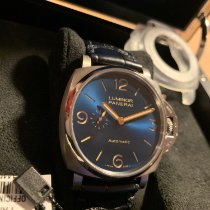 Panerai Titanium Automatic Blue Arabic numerals 45mm pre-owned Luminor Due