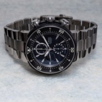 Oris ProDiver Chronograph Titanium 52mm Black United States of America, Texas, Houston