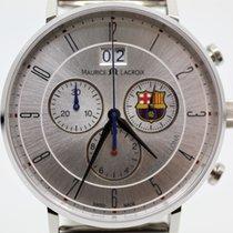 Maurice Lacroix Ceramic Quartz Silver Arabic numerals 40mm new Eliros